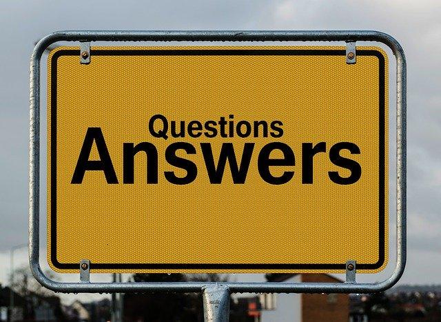 質問の答え