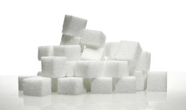 角砂糖の山